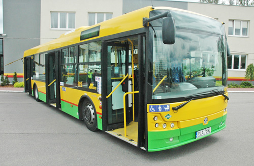 Solbus Solcity LNG